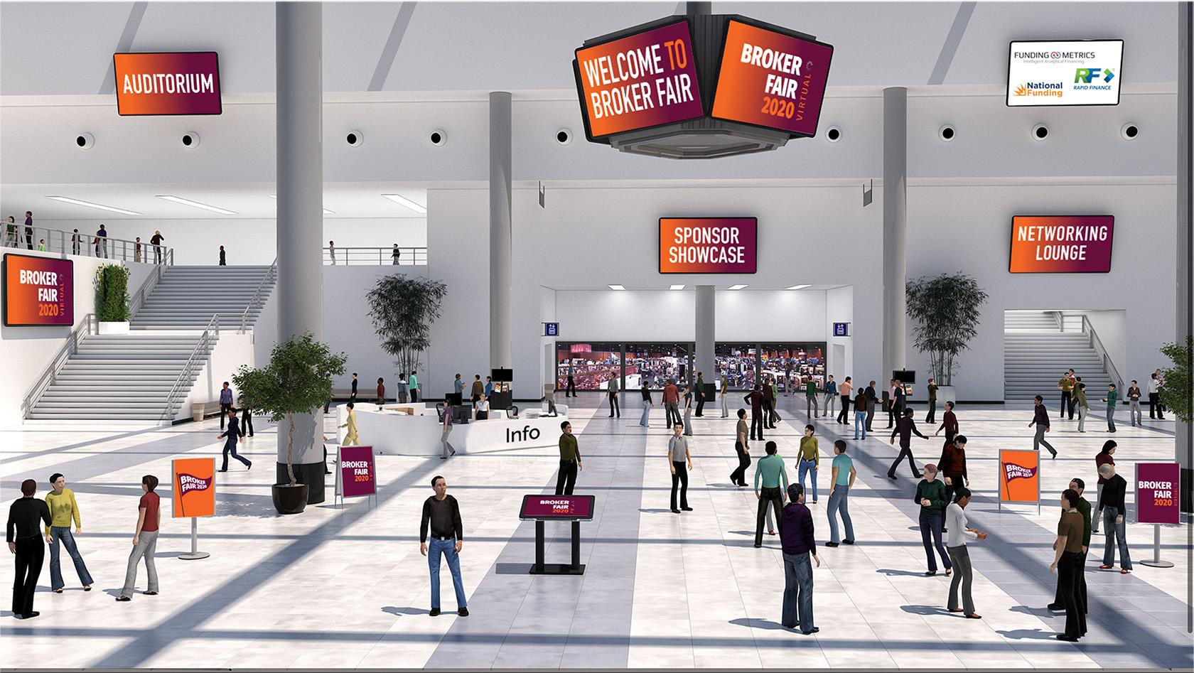 Broker Fair Virtual Lobby